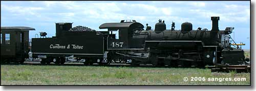 Cumbres and Toltec engine