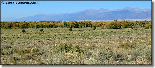 Zapata Ranch, Nature Conservancy property in the San Luis Valley of Colorado