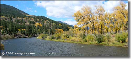 Rio Grande near South Fork, Colorado