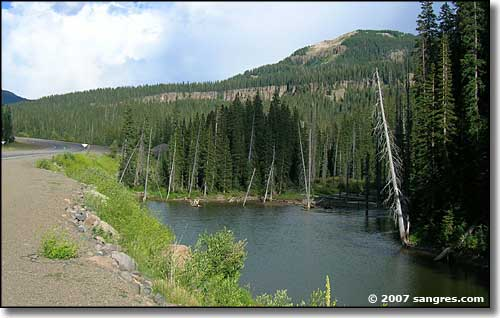 Wolf Creek Pass