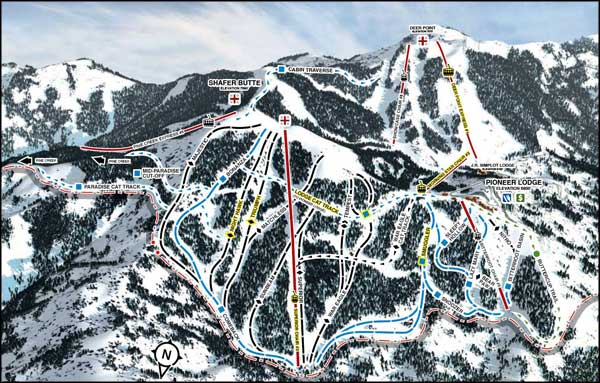 Bogus Basin Mountain Resort, Boise, Idaho