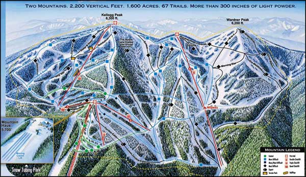 Silver Mountain Resort, Kellogg, Idaho