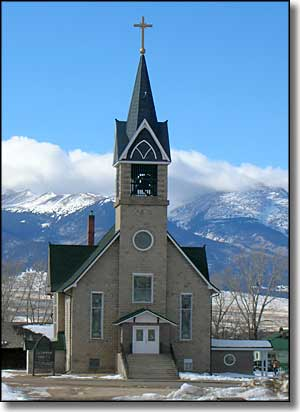 Hope Lutheran Church in Westcliffe, Colorado