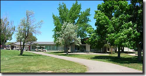pro shop clubhouse at Holly Dot Golf Course, Colorado City, Colorado