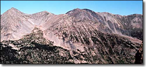 California Peak in the Sangre de Cristo Wilderness