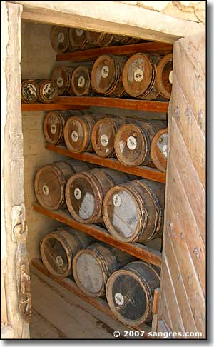 Gunpowder storage