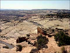 The view from Escalante Overlook