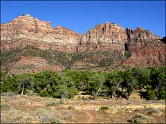 Lower Zion Canyon