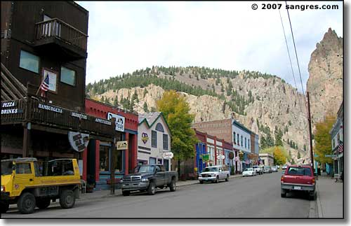 downtown Creede Colorado