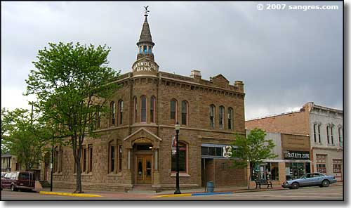 downtown Canon City, Colorado