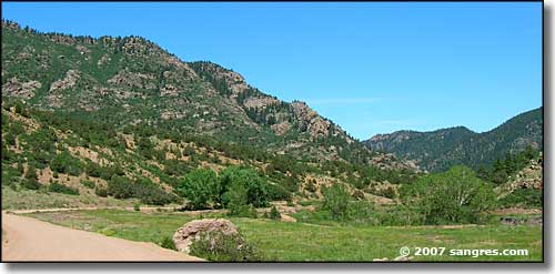 Oak Creek Grade in Fremont County, Colorado