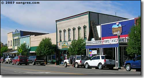 Downtown Gunnison, Colorado