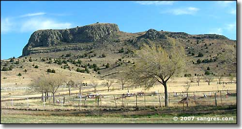 Wagon Mound, New Mexico