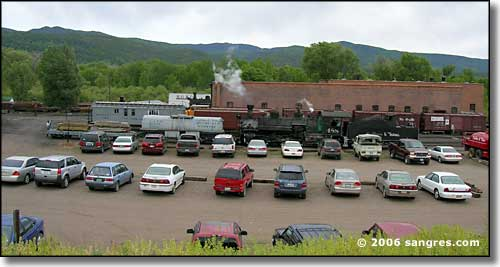 parking lot in Chama