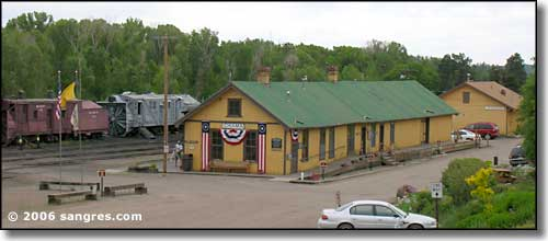 Cumbres and Toltec station in Chama, NM