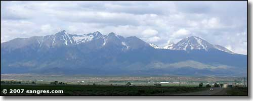 The Blanca Massif from San Luis