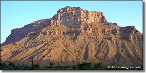 The Book Cliffs of Grand Junction, Colorado area