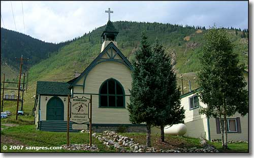 Another church in Silverton, Colorado