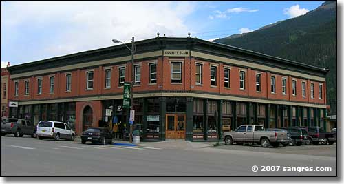 The Country Club Building in Silverton, Colorado