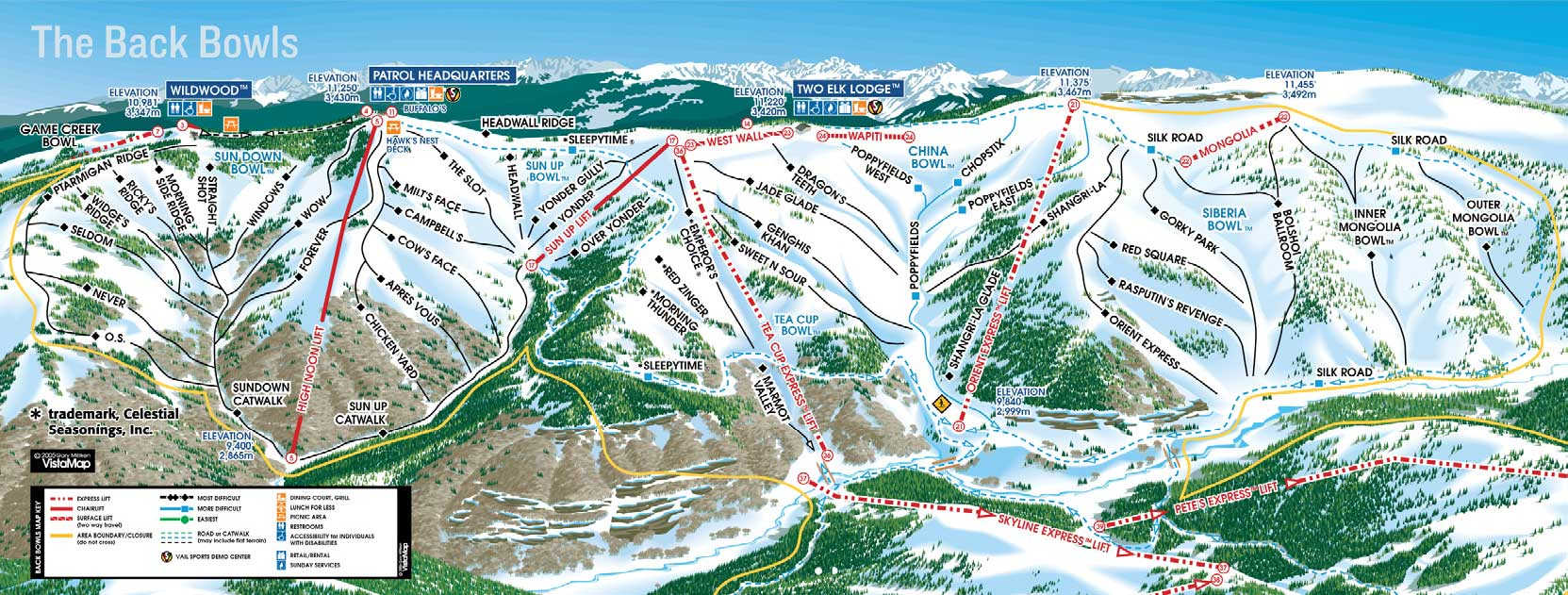 Ski Resort - Map of colorado ski resorts and cities