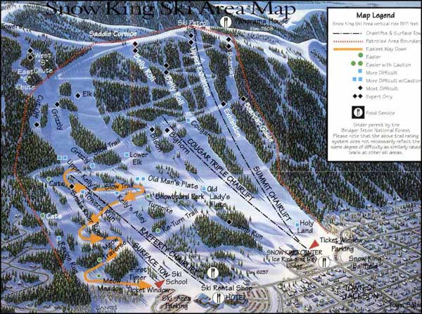 Snow King Ski Area, Jackson, Wyoming