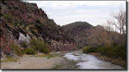 In the Hassayamapa River Canyon Wilderness