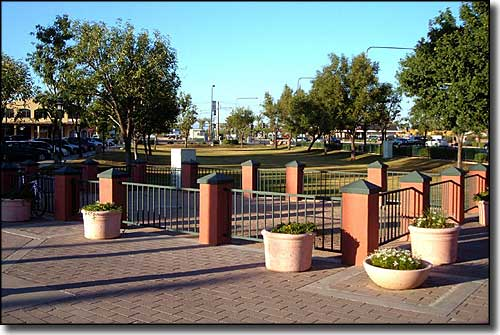 AJ Chandler Park in downtown Chandler, Arizona