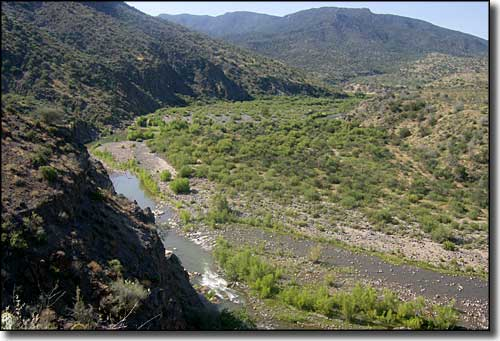 The Verde River below Cedar Bench Wilderness