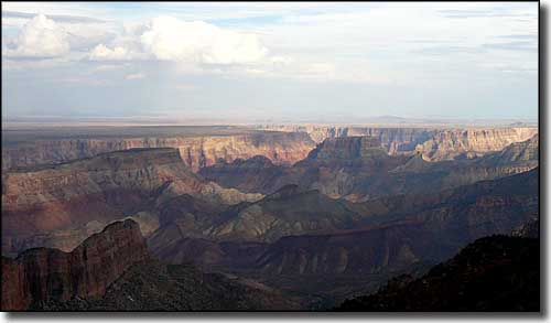 The Grand Canyon from Saddle Mountain Wilderness