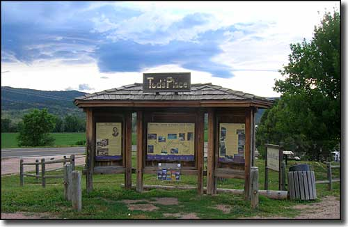 Ted's Place, beginning of the Cache la Poudre-North Park Scenic Byway
