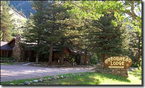 The Arrowhead Lodge Visitor Center