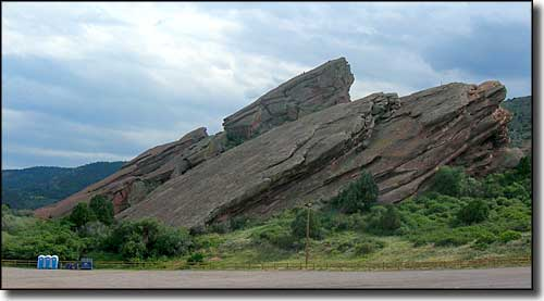 Another view of the Red Rocks/Dakota Wall formation