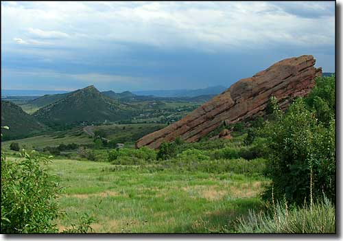 Red Rocks at Morrison, along the Lariat Loop Scenic Byway