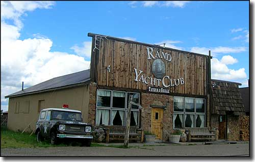Rand Yacht Club in Rand