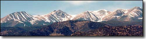 Culebra Peak from Stonewall, Colorado