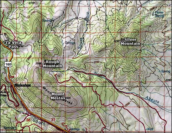 Topographic Map Colorado Springs.Index Of Dimages Colorado Mountains Topo Maps