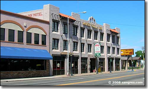 Main Street in Monte Vista Colorado