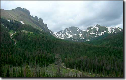 Nokhu Crags on the left, State Forest State Park
