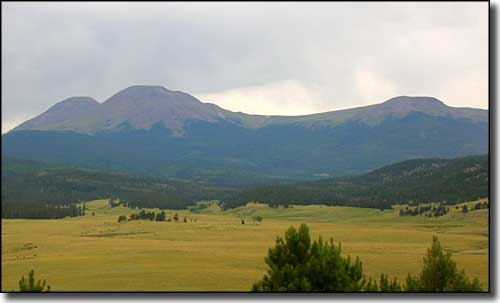 Buffalo Peaks in Pike National Forest