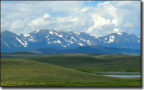 Mt. Zirkel from Arapaho National Wildlife Refuge
