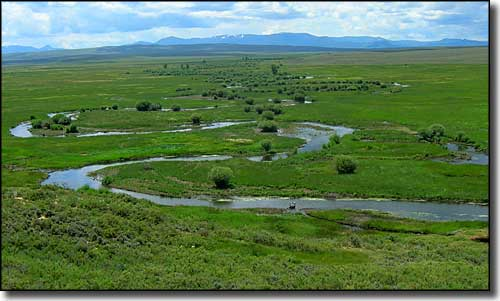 The Illinois River on Arapaho National Wildlife Refuge in Colorado