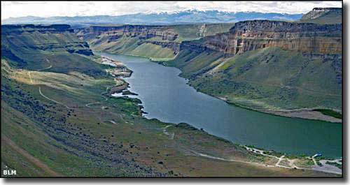 Sanke River Canyon in the Snake River Birds of Prey National Conservation Area