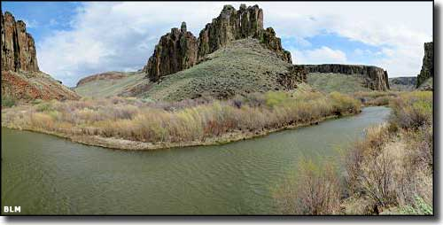 Owyhee River in the Owyhee River Wilderness