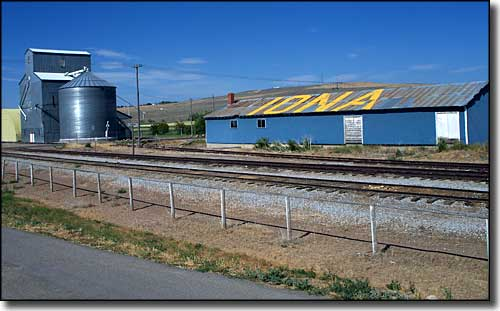 By the railroad tracks in Iona, Idaho