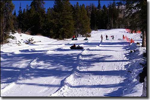 The Magic Mountain Resort tubing hill