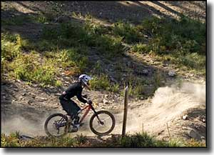 Mountain biking at Silver Mountain Resort