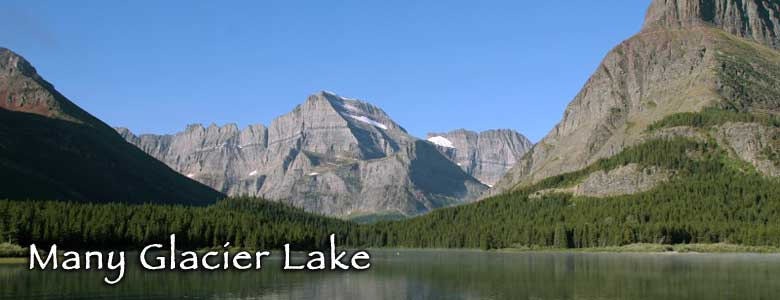 Many Glacier Lake