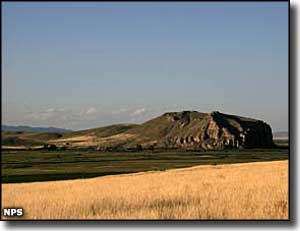 Beaverhead Rock, near Dillon, Montana