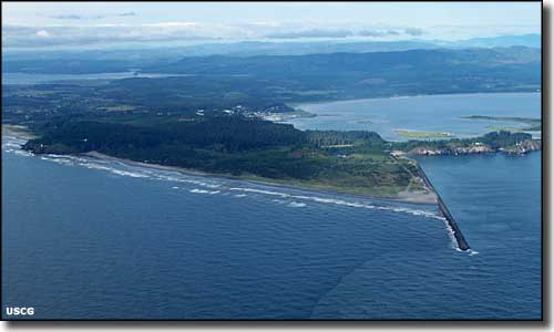 Cape Disappointment, western terminus of the Lewis and Clark Expedition