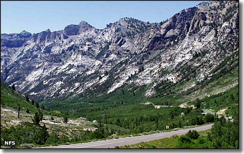 Lamoille Canyon, Humboldt-Toiyabe National Forest, Nevada